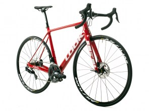 785 HUEZ DISC RED GLOSSY D